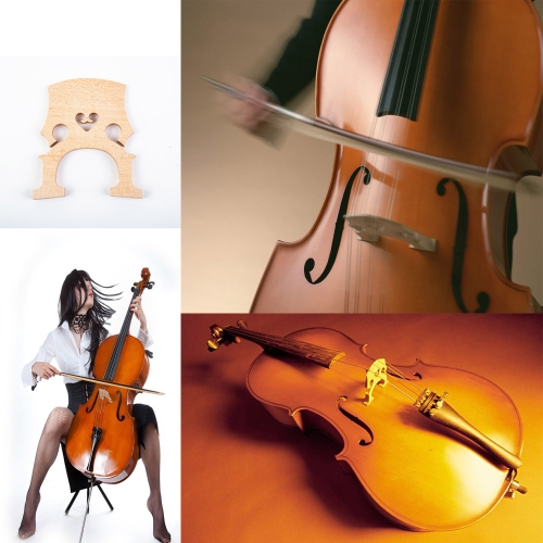 4/4 Size Cello Bridge Maple Exquisite WorkmanshipToys &amp; Hobbies<br>4/4 Size Cello Bridge Maple Exquisite Workmanship<br>