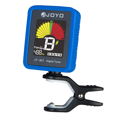 Joyo JT-301 Clip-on Electric Digital Tuner Color Screen with Silica Gel Cover for Guitar Chromatic Bass Ukulele Violin Universal PToys &amp; Hobbies<br>Joyo JT-301 Clip-on Electric Digital Tuner Color Screen with Silica Gel Cover for Guitar Chromatic Bass Ukulele Violin Universal P<br>