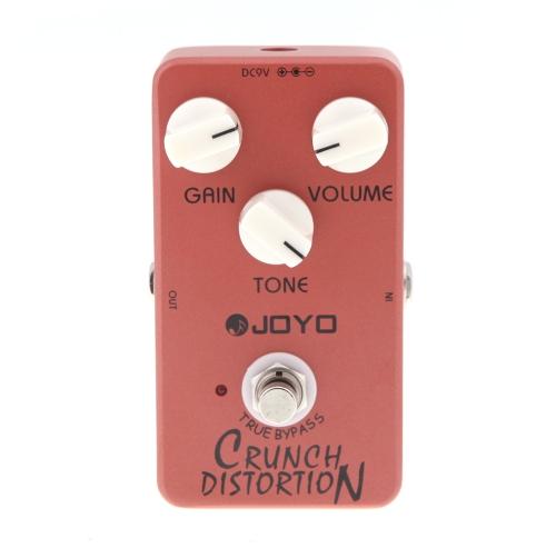 Joyo JF-03 ジョーヨー Crunch Distortion クランチディストーション ・ギターエフェクトペダル  ギターエフェクト   トゥルーバイパス式 [並行輸入品]