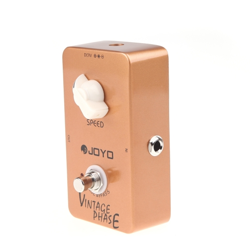 JOYO JF-06 fase Vintage Phaser chitarra effetto pedale True Bypass