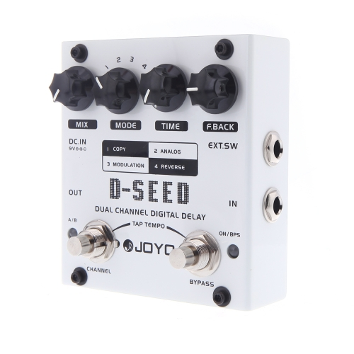 JOYO D-SEED Dual Channel Digital Delay Guitar Effect Pedal with Four ModesToys &amp; Hobbies<br>JOYO D-SEED Dual Channel Digital Delay Guitar Effect Pedal with Four Modes<br>