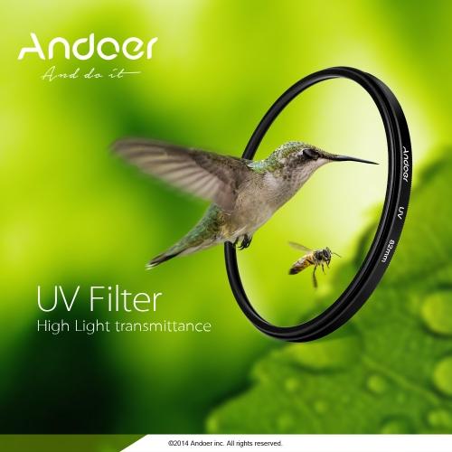 Andoer 52mm UV Ultra-Violet Filter Lens Protector for Canon Nikon DSLR CameraCameras &amp; Photo Accessories<br>Andoer 52mm UV Ultra-Violet Filter Lens Protector for Canon Nikon DSLR Camera<br>