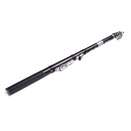 2.4M 7.87FT Telescopic Rock Fishing Rod Travel Spinning Fishing Pole Carbon PortableSports &amp; Outdoor<br>2.4M 7.87FT Telescopic Rock Fishing Rod Travel Spinning Fishing Pole Carbon Portable<br>
