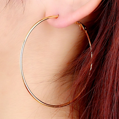 18K Gold Plated Big Large Round Hoop Dangle Earrings Fine Thin Jewelry Gift for Lady Girl WomenApparel &amp; Jewelry<br>18K Gold Plated Big Large Round Hoop Dangle Earrings Fine Thin Jewelry Gift for Lady Girl Women<br>