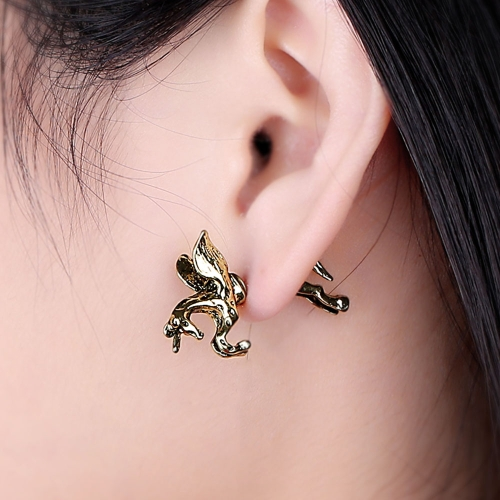 Retro Vintage Women Men Punk Stud Unicorn Running Horse Exaggerated Personality Earring Rock Gothic JewelryApparel &amp; Jewelry<br>Retro Vintage Women Men Punk Stud Unicorn Running Horse Exaggerated Personality Earring Rock Gothic Jewelry<br>