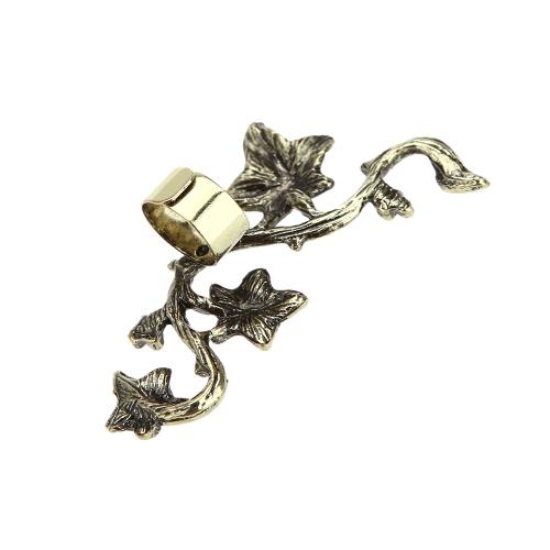 Fashion Retro Vintage Punk Alloy Plated Leaf Ear Cuff Clip Stud Earrings Jewelry AccessoryApparel &amp; Jewelry<br>Fashion Retro Vintage Punk Alloy Plated Leaf Ear Cuff Clip Stud Earrings Jewelry Accessory<br>