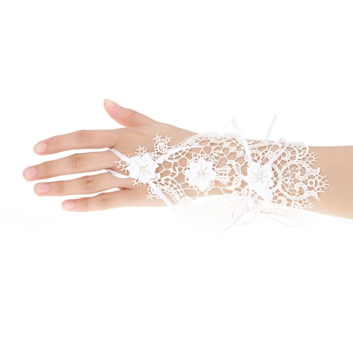 Retro Vintage Flower Bowknot Rhinestone Hollow Lace Gothic Bracelet Bridal Bridesmaid Wedding Party Gothic Jewelry Accessories forApparel &amp; Jewelry<br>Retro Vintage Flower Bowknot Rhinestone Hollow Lace Gothic Bracelet Bridal Bridesmaid Wedding Party Gothic Jewelry Accessories for<br>