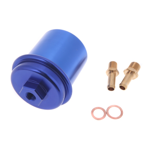 High Flow Fuel Filter Performance Racing for 96-00 Honda Civic BlueCar Accessories<br>High Flow Fuel Filter Performance Racing for 96-00 Honda Civic Blue<br>