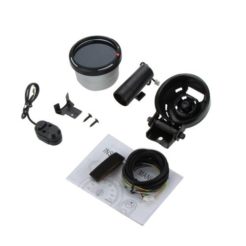 調節可能なシフト光 + ステッピング モーター ブラック計 11000 RPM の 3.5