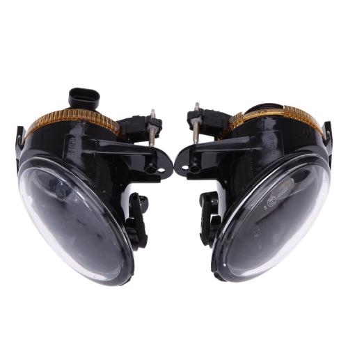 Paire Feux de Brouillard de Pare-chocs Avant Gauche & Droite Lumières de Conduite pour VW Passat B6 2006 2007 2008