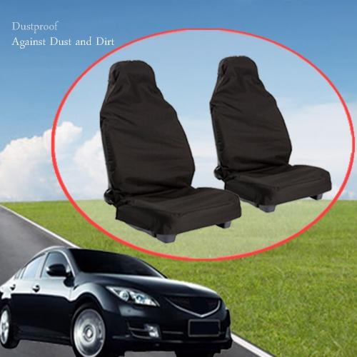 2pcs Universal Car Van Front Heavy Duty Dustproof Polyester Protectors Seat CoversCar Accessories<br>2pcs Universal Car Van Front Heavy Duty Dustproof Polyester Protectors Seat Covers<br>
