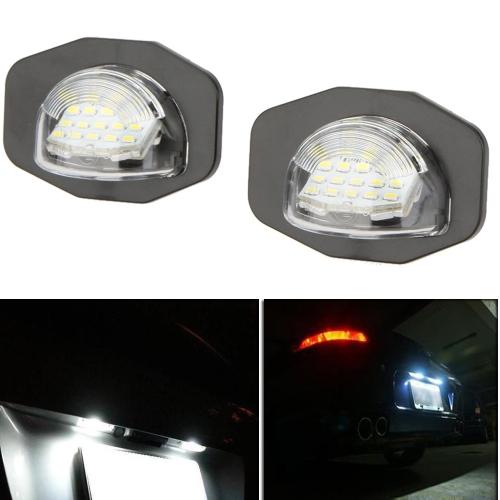 Pair LED License Plate Light Lamp for Toyota Corolla Alphard Auris Scion SiennaCar Accessories<br>Pair LED License Plate Light Lamp for Toyota Corolla Alphard Auris Scion Sienna<br>