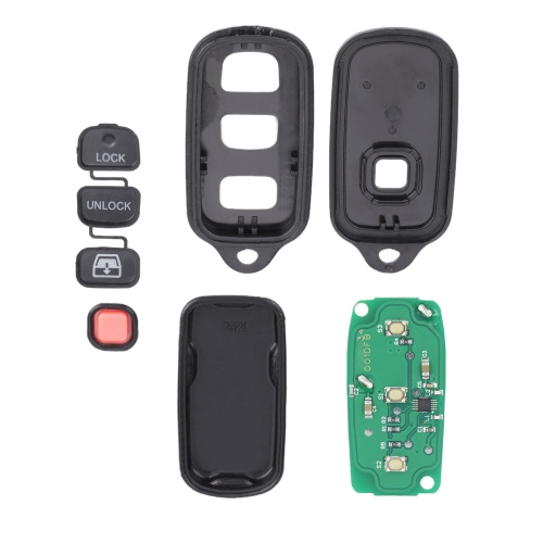 New Replacement Keyless Entry Remote Key Fob for HYQ12BBX 3+1 ButtonsCar Accessories<br>New Replacement Keyless Entry Remote Key Fob for HYQ12BBX 3+1 Buttons<br>