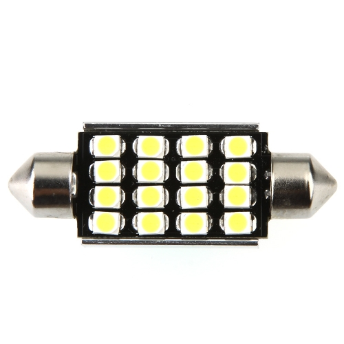 LED Car Light 42mm 16 1210 Canbus WhiteCar Accessories<br>LED Car Light 42mm 16 1210 Canbus White<br>