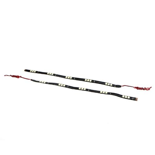 2Pcs 15 LED 5050 SMD Light Strip 12V for Car WhiteCar Accessories<br>2Pcs 15 LED 5050 SMD Light Strip 12V for Car White<br>
