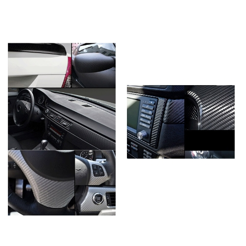 127*30CM 3D Carbon Fiber Film Vinyl Sticker Car Body / Interior Decoration GreyCar Accessories<br>127*30CM 3D Carbon Fiber Film Vinyl Sticker Car Body / Interior Decoration Grey<br>