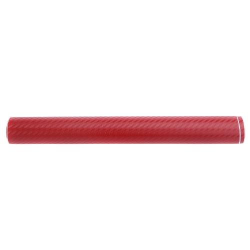 127*30CM 3D Carbon Fiber Film Vinyl Sticker Car Body / Interior Decoration RedCar Accessories<br>127*30CM 3D Carbon Fiber Film Vinyl Sticker Car Body / Interior Decoration Red<br>