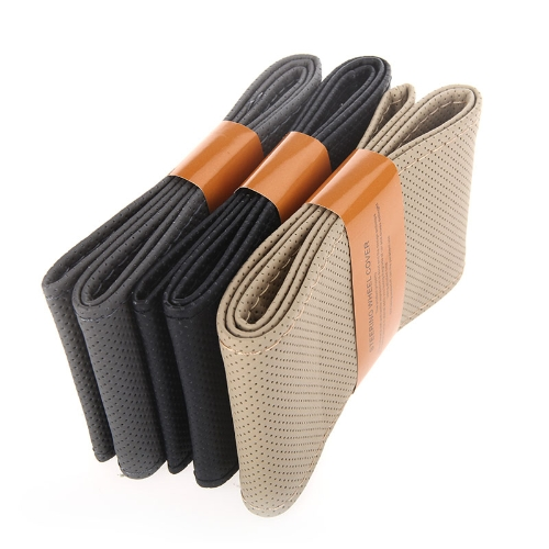 DIY Car Steering Wheel Cover Artificial Leather Hand Sewing with Needle and Thread BlackCar Accessories<br>DIY Car Steering Wheel Cover Artificial Leather Hand Sewing with Needle and Thread Black<br>