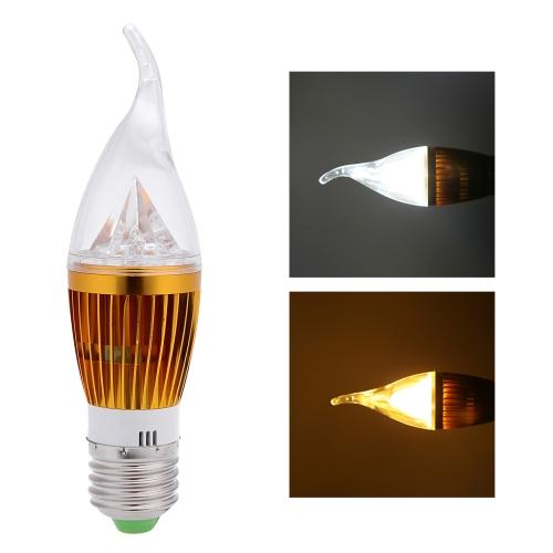 E27 6W LED Candle Light Bulb Chandelier Lamp Spotlight High Power AC85-265VHome &amp; Garden<br>E27 6W LED Candle Light Bulb Chandelier Lamp Spotlight High Power AC85-265V<br>