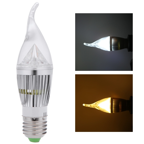 E27 10W LED Candle Light Bulb Chandelier Lamp Spotlight High Power AC85-265VHome &amp; Garden<br>E27 10W LED Candle Light Bulb Chandelier Lamp Spotlight High Power AC85-265V<br>
