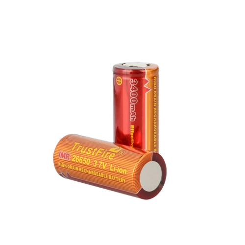 TrustFire 2PCS 26650 3400mAh 3.7V IMR Rechargeable High Drain Battery for Electronic Smoke FlashlightHome &amp; Garden<br>TrustFire 2PCS 26650 3400mAh 3.7V IMR Rechargeable High Drain Battery for Electronic Smoke Flashlight<br>