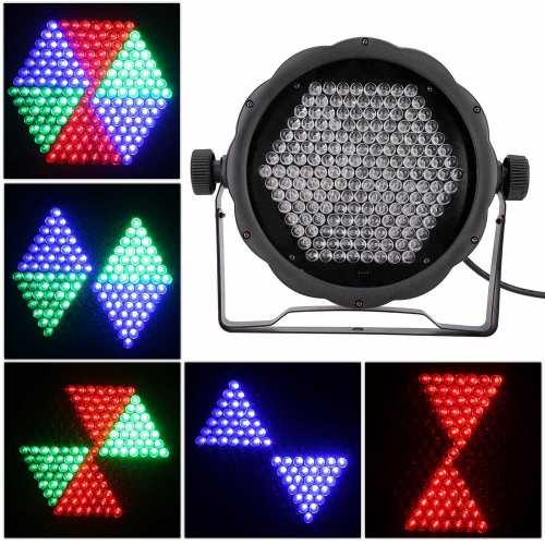 AC90-240V 25W 169 RGB LED effetto luce DMX512 fase di controllo vocale illuminazione discoteca DJ KTV Bar Party Show