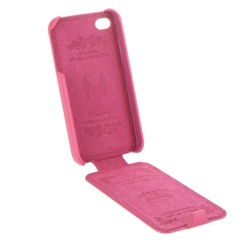 Genuine Leather Case for iPhone 4/4s RoseCellphone &amp; Accessories<br>Genuine Leather Case for iPhone 4/4s Rose<br>