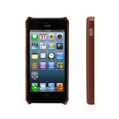 Jisoncase Genuine Leather Case Cover for iPhone 5Cellphone &amp; Accessories<br>Jisoncase Genuine Leather Case Cover for iPhone 5<br>