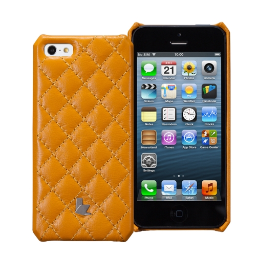 Jisoncase Matelasse Genuine Leather Case for iPhone 5Cellphone &amp; Accessories<br>Jisoncase Matelasse Genuine Leather Case for iPhone 5<br>