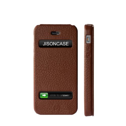 Jisoncase Flip Executive Case Cover for iPhone 5Cellphone &amp; Accessories<br>Jisoncase Flip Executive Case Cover for iPhone 5<br>