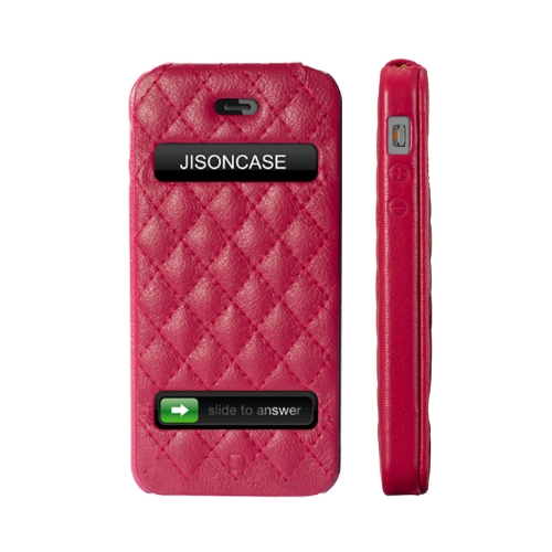 Jisoncase Flip Matelasse Leather Case Cover for iPhone 5Cellphone &amp; Accessories<br>Jisoncase Flip Matelasse Leather Case Cover for iPhone 5<br>