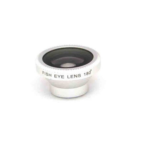 Detachable Magnetic 180° Telephoto Fisheye Lens Fish Eye for Mobile Phones iPhone 5 4 4S Samsung HTC SilverCellphone &amp; Accessories<br>Detachable Magnetic 180° Telephoto Fisheye Lens Fish Eye for Mobile Phones iPhone 5 4 4S Samsung HTC Silver<br>