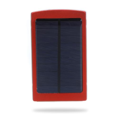 10000 مللي أمبير شاحن الطاقة الشمسية الخارجية موبايل الطاقة العالمي ل فون باد سامسونج نوسيسمارتفونيس المحمولة الأحمر