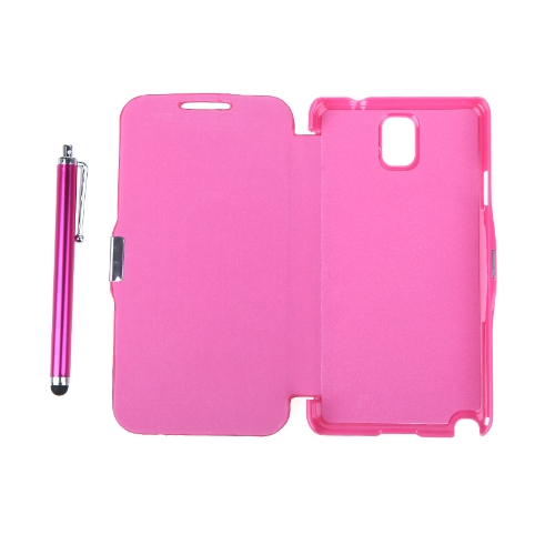 Magnetic Flip Leather Hard Full Case Cover for Samsung N9000 Galaxy Note3+Stylus Pen+Screen Film RoseCellphone &amp; Accessories<br>Magnetic Flip Leather Hard Full Case Cover for Samsung N9000 Galaxy Note3+Stylus Pen+Screen Film Rose<br>