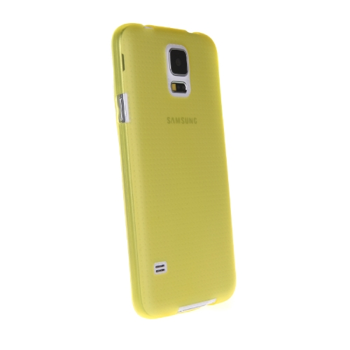 Ultra-thin PC Protective Back Case Cover Shell for Samsung Galaxy S5 i9600 YellowCellphone &amp; Accessories<br>Ultra-thin PC Protective Back Case Cover Shell for Samsung Galaxy S5 i9600 Yellow<br>