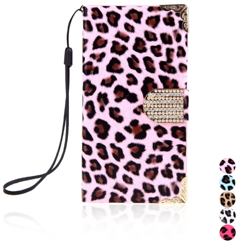 Fashion Wallet Leopard Case Flip Leather Cover with Card Holder/Strap for Samsung Galaxy S5 i9600 PinkCellphone &amp; Accessories<br>Fashion Wallet Leopard Case Flip Leather Cover with Card Holder/Strap for Samsung Galaxy S5 i9600 Pink<br>
