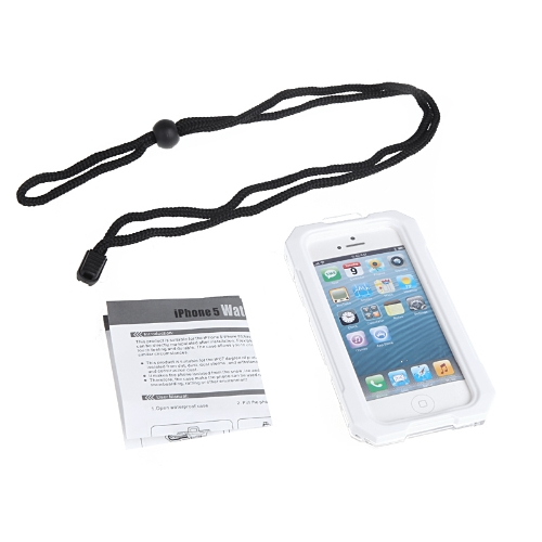 Ipega Waterproof Shockproof Snowfroof Dirtproof Silicon Protective Case for iPhone 5/5S with Strap WhiteCellphone &amp; Accessories<br>Ipega Waterproof Shockproof Snowfroof Dirtproof Silicon Protective Case for iPhone 5/5S with Strap White<br>