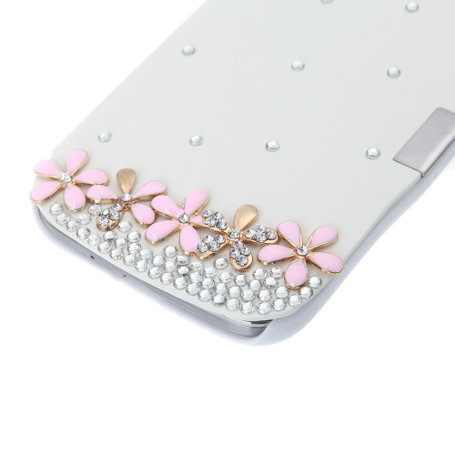 Flip Leather Bling Flower Case Cover PU Leather for Samsung Galaxy S4 i9500 WhiteCellphone &amp; Accessories<br>Flip Leather Bling Flower Case Cover PU Leather for Samsung Galaxy S4 i9500 White<br>