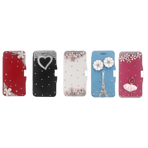 Magnetic Flip PU Leather Hard Skin Ultra Slim Pouch Wallet Case Cover Bling Diamond Rhinestone Crystal for Apple iPhone 6 WhiteCellphone &amp; Accessories<br>Magnetic Flip PU Leather Hard Skin Ultra Slim Pouch Wallet Case Cover Bling Diamond Rhinestone Crystal for Apple iPhone 6 White<br>