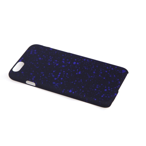 Fantastic Universal Stars PC Protective Hard Back Case Cover Skin for Apple iPhone 6 4.7 Dark Blue