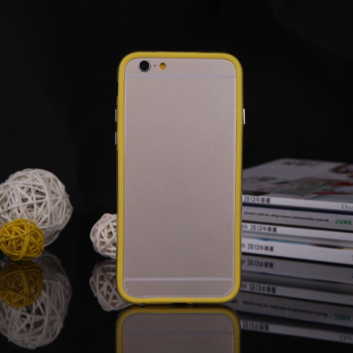 Ultrathin Lightweight TPU Bumper Frame Shell Case Protective Cover for 4.7 iPhone 6 YellowCellphone &amp; Accessories<br>Ultrathin Lightweight TPU Bumper Frame Shell Case Protective Cover for 4.7 iPhone 6 Yellow<br>