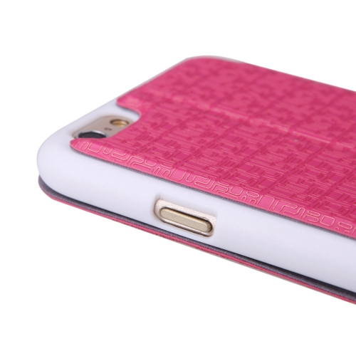 Luxury Slim Flip Leather Dual Double View Window Maze Grain Case Hard Back Cover Protective Shell for Apple iPhone 6 4.7 Rose RedCellphone &amp; Accessories<br>Luxury Slim Flip Leather Dual Double View Window Maze Grain Case Hard Back Cover Protective Shell for Apple iPhone 6 4.7 Rose Red<br>