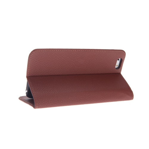 Fashion Card Holder Wallet Leather Case Flip Stand Cover for iPhone 6 Plus BrownCellphone &amp; Accessories<br>Fashion Card Holder Wallet Leather Case Flip Stand Cover for iPhone 6 Plus Brown<br>
