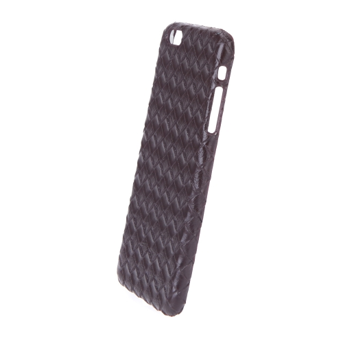 Ultrathin Lightweight Plastic Fashion Shell Case Protective Back Cover for iPhone 6 Plus Quilt Rhombus BrownCellphone &amp; Accessories<br>Ultrathin Lightweight Plastic Fashion Shell Case Protective Back Cover for iPhone 6 Plus Quilt Rhombus Brown<br>