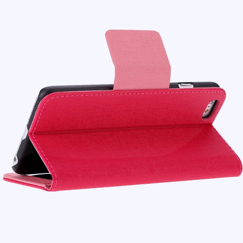 Luxury Flip PU Leather Hard Wallet Case Cover Textured Grain Pouch Stand Folded Magnetic Clip for Apple iPhone 6 Plus 5.5 InchesCellphone &amp; Accessories<br>Luxury Flip PU Leather Hard Wallet Case Cover Textured Grain Pouch Stand Folded Magnetic Clip for Apple iPhone 6 Plus 5.5 Inches<br>