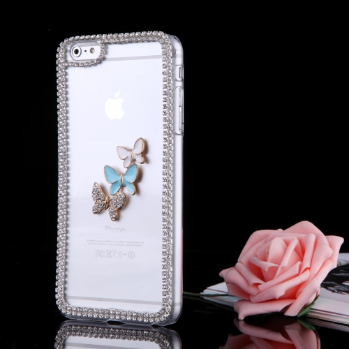 Ultrathin Lightweight Plastic Fashion Bling Bumper Shell Case Protective Back Cover for iPhone 6 PlusCellphone &amp; Accessories<br>Ultrathin Lightweight Plastic Fashion Bling Bumper Shell Case Protective Back Cover for iPhone 6 Plus<br>