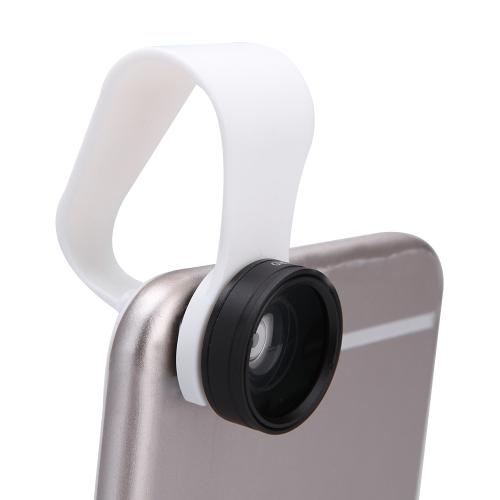 Detachable Clip-on 110° 0.67X Wide Angle 10X Macro Lens for iPhone 6 5 Samsung Xiaomi Sony iPad MiniCellphone &amp; Accessories<br>Detachable Clip-on 110° 0.67X Wide Angle 10X Macro Lens for iPhone 6 5 Samsung Xiaomi Sony iPad Mini<br>