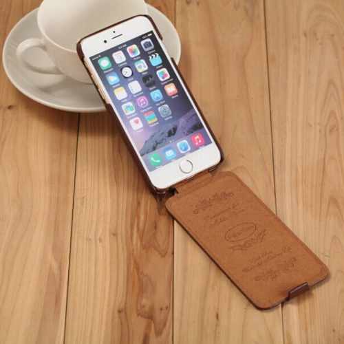 Fashion Genuine + PU Leather Ultra Slim Flip Cover Protective Case for iPhone 6 PlusCellphone &amp; Accessories<br>Fashion Genuine + PU Leather Ultra Slim Flip Cover Protective Case for iPhone 6 Plus<br>