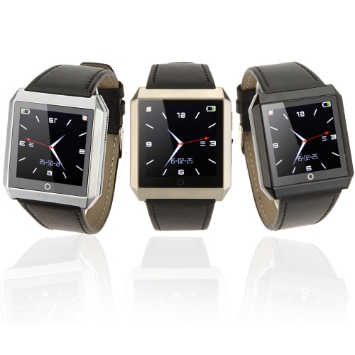 Rwatch R6s Bluetooth BT4.0 Smart Watch 1.6 Display Screen for Android 2.3 to 4.2 IOS 7.0 BT4.0 Above Smartphone Pedometer BurglarCellphone &amp; Accessories<br>Rwatch R6s Bluetooth BT4.0 Smart Watch 1.6 Display Screen for Android 2.3 to 4.2 IOS 7.0 BT4.0 Above Smartphone Pedometer Burglar<br>