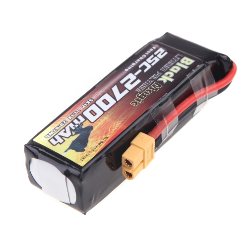 Black Magic 2700mAh 11.1V 25C LiPo Battery XT60 Plug for DJI Phantom Quadcopter BatteryToys &amp; Hobbies<br>Black Magic 2700mAh 11.1V 25C LiPo Battery XT60 Plug for DJI Phantom Quadcopter Battery<br>